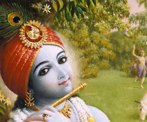 flute, Krishna, and lord image