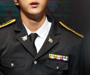jin, oppa, and bts image
