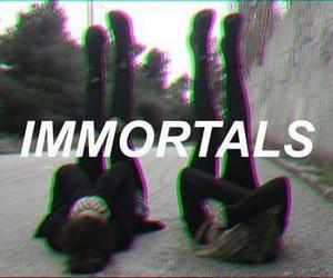 Immortal, black, and grunge image