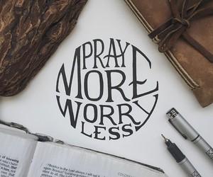 god, grace, and pray image