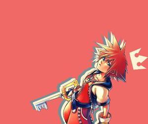game, sora, and keyblade image