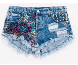 beautiful, shorts, and flower image