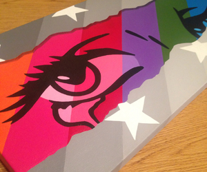 acrylic, colors, and canvas image