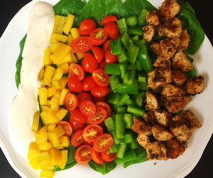 colorful, delicious, and dinner image