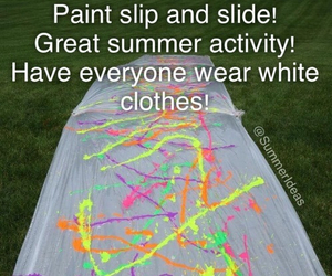 summer, paint, and diy image