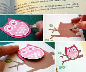 owl, book, and diy image