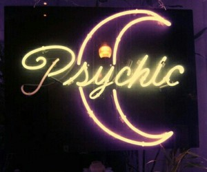 psychic, moon, and grunge image