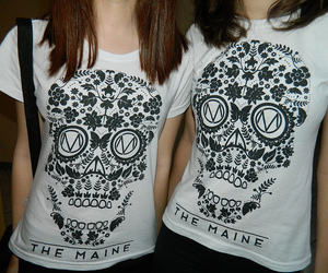 t-shirt and the maine image