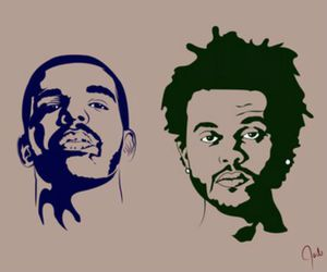 Drake, the weeknd, and love image