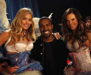 Victoria's Secret, kanye west, and alessandra ambrosio image