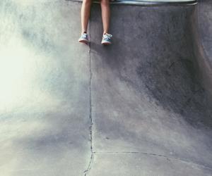 skate, skateboard, and girl skater image