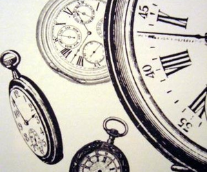 clock, photography, and time image