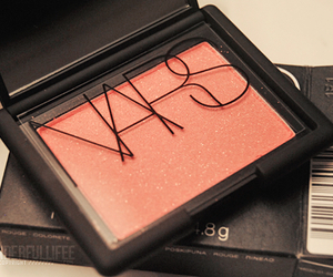 nars, make up, and blush image