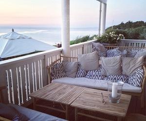 beach, decor, and interior image