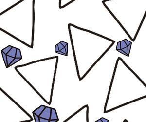 blue, diamond, and dogs image