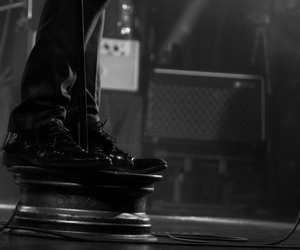 black and white, shoes, and kaizers orchestra image