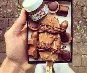chocolate, Magnum, and sweet image