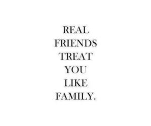 quote, friends, and family image