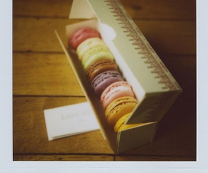 candy and macarons image