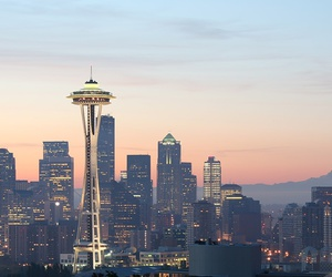 seattle, city, and travel image