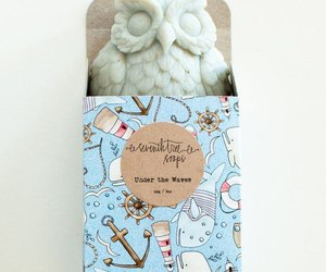 owl, soap, and cute image