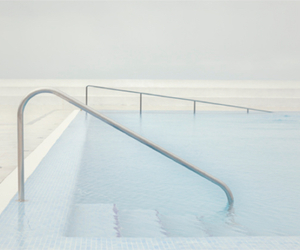 pool, blue, and pale image