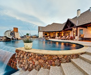 cool, luxurious, and swimming pool image