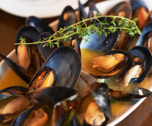 food, mussels, and shellfish image