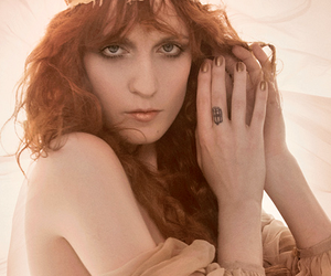 florence welch, vogue, and florence + the machine image