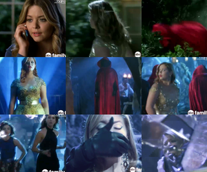 charles, red coat, and lucy hale image