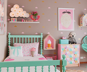 bedroom, girl, and cute image