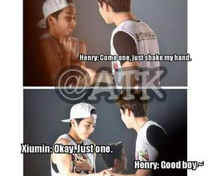 exo, funny, and henry image