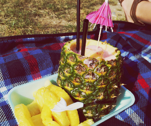 drink, festival, and pineapple image