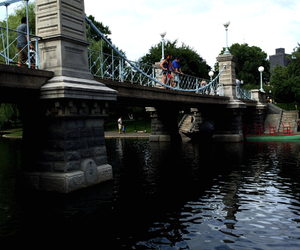 boston, bridge, and park image