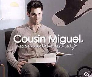 teen wolf, derek, and cousin miguel image