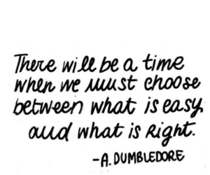 dumbledore, quotes, and choose image