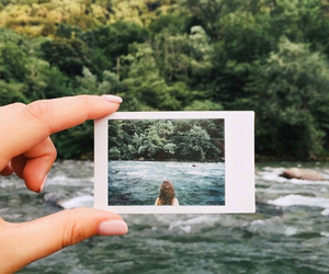 summer, photography, and polaroid image