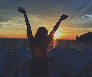Croatia, summer, and sunset image