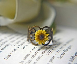 ring and sunflower image