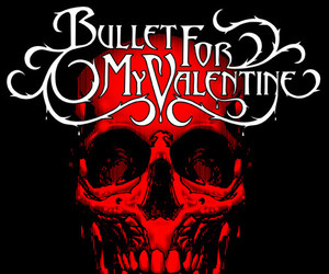 band and bullet for my valentine image