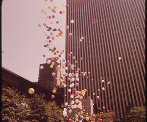 1970s, balloons, and free image