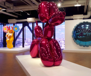 art, balloon, and jeff koons image