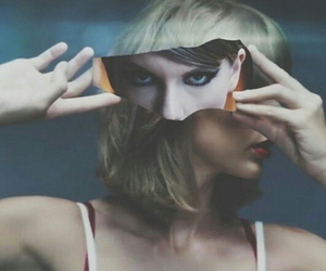 blonde, eyes, and music video image
