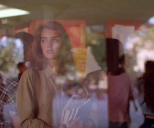 brooke shields, glass, and pretty image