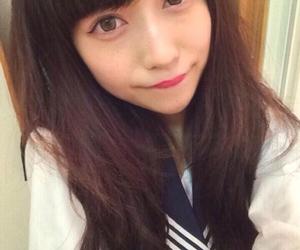 girl, セーらー服, and japanese image