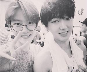 exo, yesung, and baekhyun image