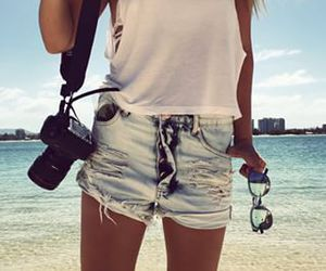 photography, style, and summer image