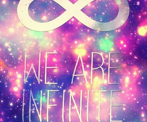 infinite, galaxy, and wallpaper image