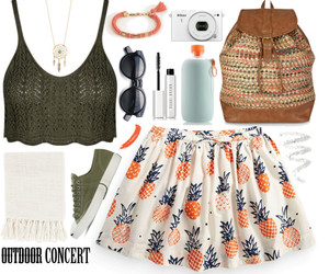 fashion, pineapple, and style image