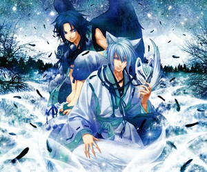 anime and blue image